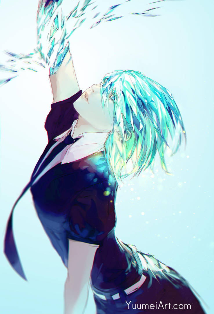 Phosphophyllite by yuumei