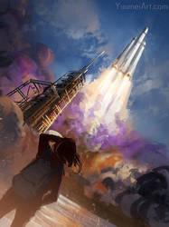 Dream Higher by yuumei