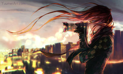 Look Away from Yesterday by yuumei