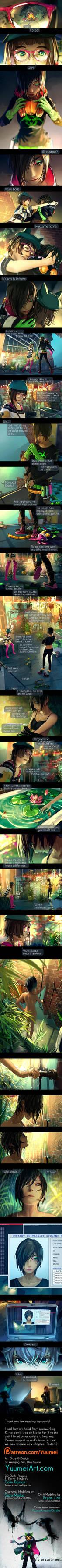 Fisheye Placebo: Ch1- Part 7 by yuumei