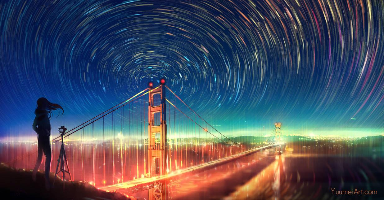 Infinite Lights by yuumei