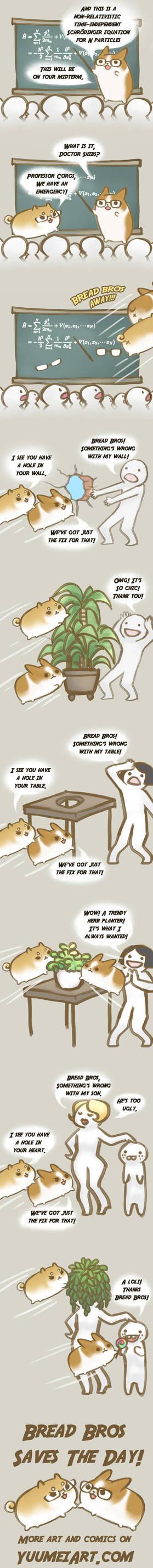 Bread Bros Adventures - Part 1 by yuumei