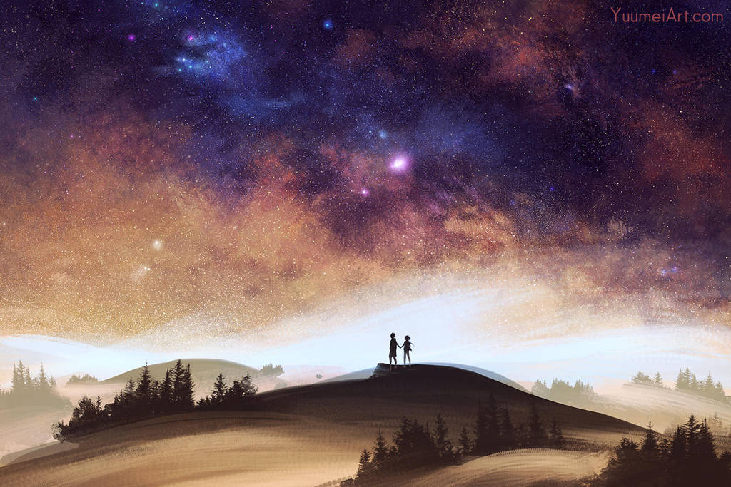 Above the Fog by yuumei