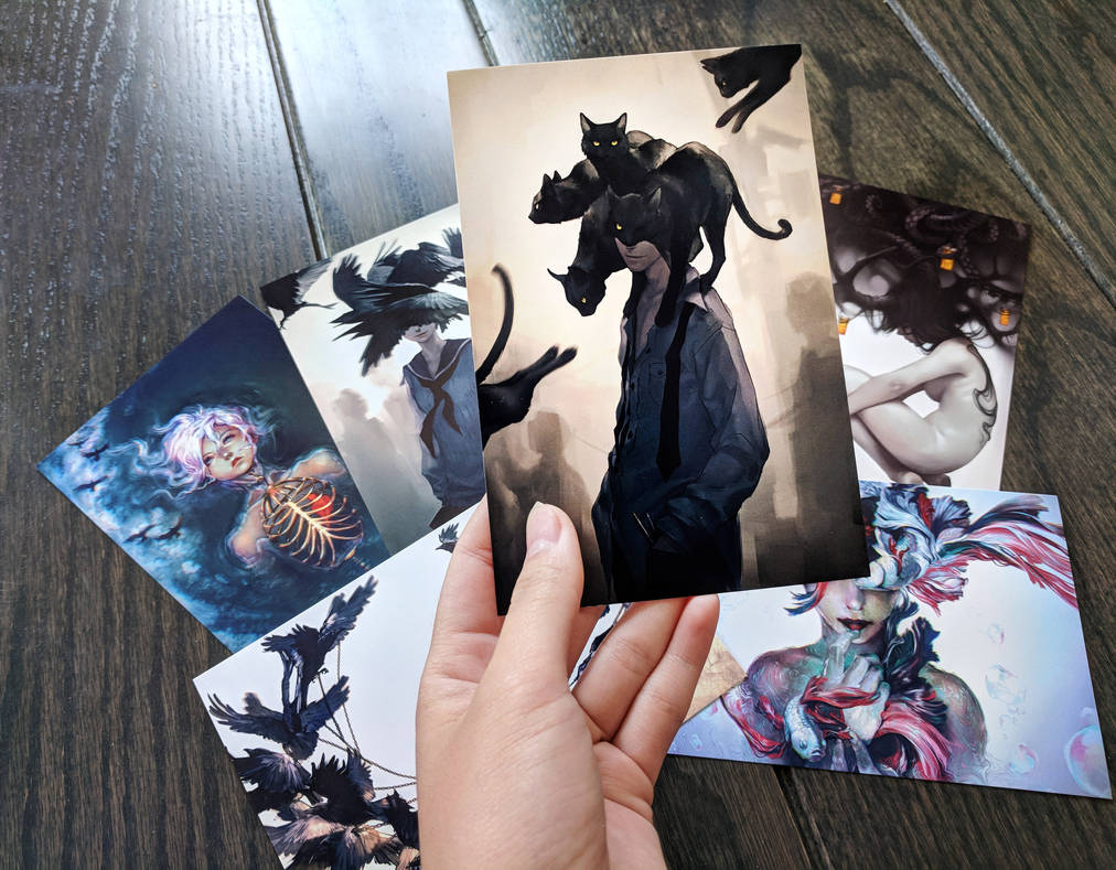 Dark Collection 2 by yuumei