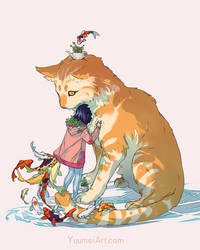 I Want To Be Fluffy Post by yuumei