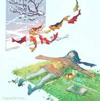 Winter Escape Post by yuumei