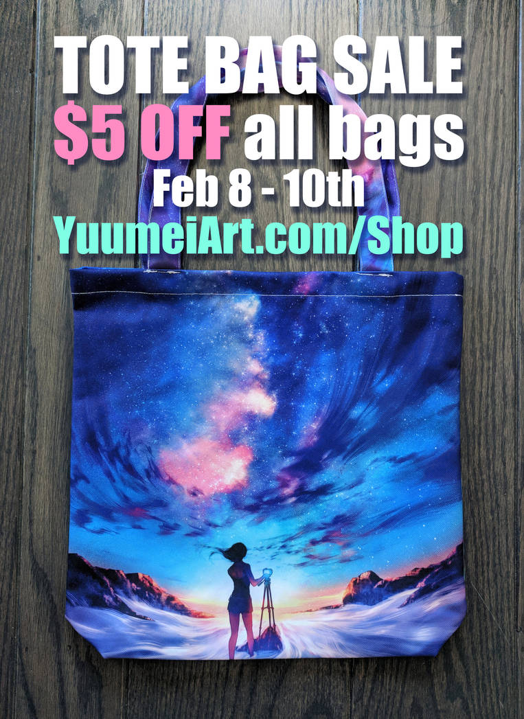 Tote Bag Sale by yuumei