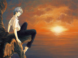 One Last Sunset by yuumei