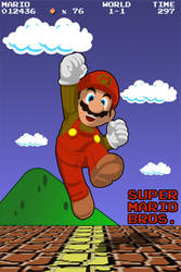 The Legend of Mario by speaker-mobile
