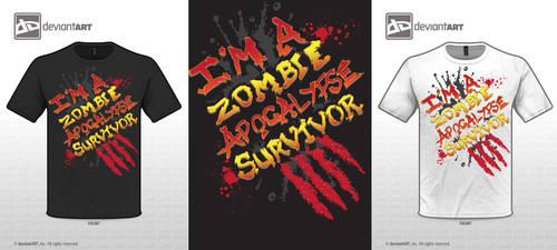 I'm a Zombie Apocalypse Survivor by Killswitch-Chris