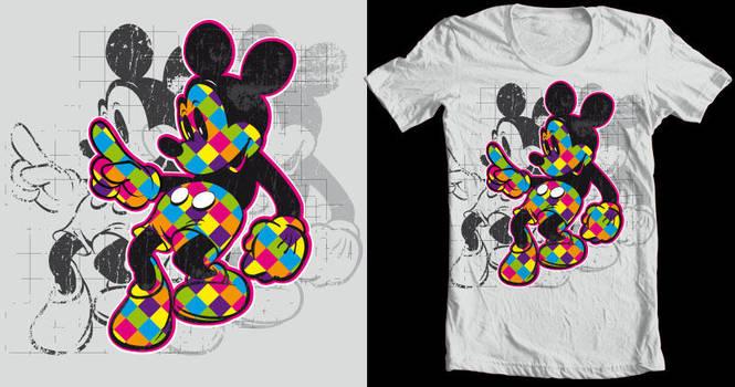Mickey lumo Tee sub by Killswitch-Chris