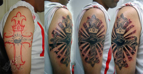 cross cover-up by stigmatattoo