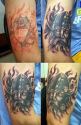 Viking cover-up by stigmatattoo