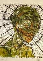 untitled dead poet woodcut II by stigmatattoo