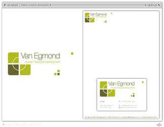Van Egmond HR Logo by iMMEASURABLE