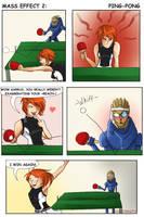 Mass Effect 2: Ping Pong by higheternity