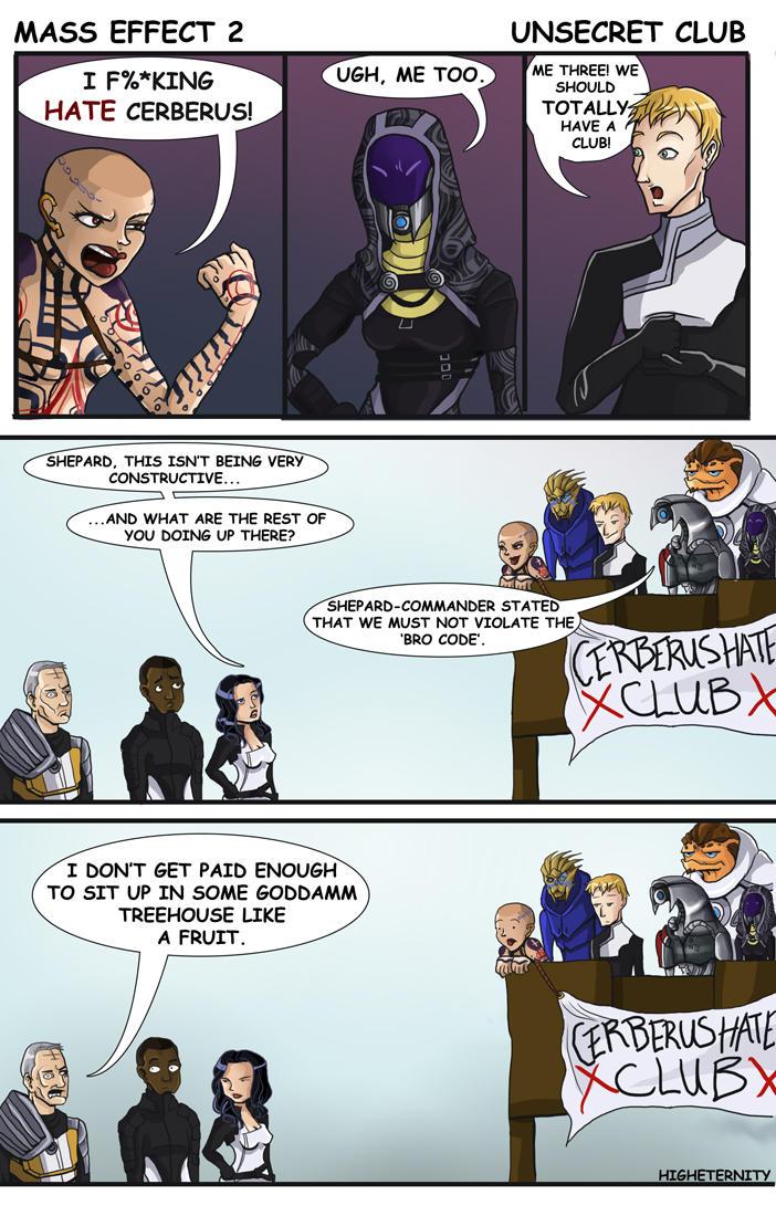 Mass Effect 2: Unsecret Club by higheternity