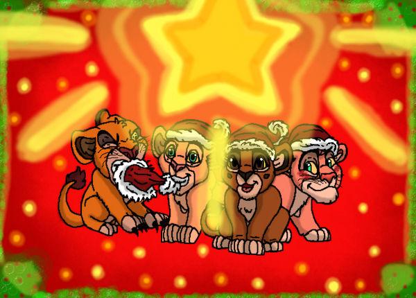 Christmas Special! Gii! Mheetu! Simba! Nala! by GiiRalheonco