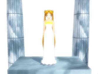 MMD Princess Serenity by MidnightMiku