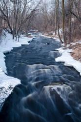 Watab River - Sartell, Minnesota by Lokolobo88