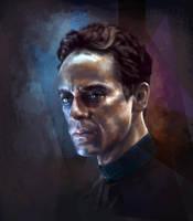 Julian Bashir by GrayscaleArt