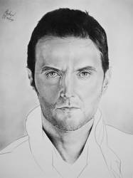 Richard Armitage II by GrayscaleArt