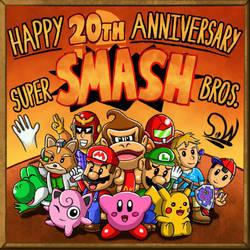 Super Smash Bros 20th Anniversary!!! by SeanW120