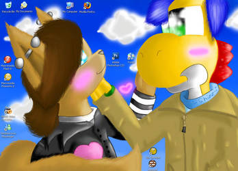 .::Just My Wallpaper::. by Yoshizzer
