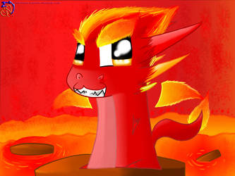 .::Magma Squibble::. by Yoshizzer
