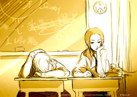 School in the afternoon by SunshinePie315