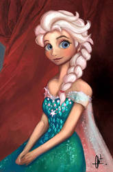 Elsa Frozen Fever by Kroizat
