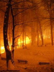 Snow Fire by LittleFrankenstein