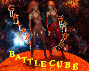 Battle cube. GalaxiBabes.com Epict Catfight SOON by westcat