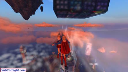Super Girl Vs Super Girl by westcat