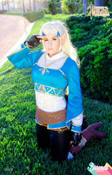 Tloz Breath Of The Wild Princess Zelda Cosplay By Burendacosmons