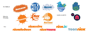 Nickelodeon Logos: Childhood through Now by AdAm-At10n