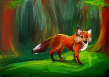 ::Forest dweller:: [AT] by sara247