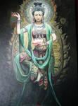 Kwan Yin Guanyin II by Phaedris