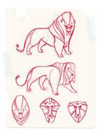Lions by JGecek