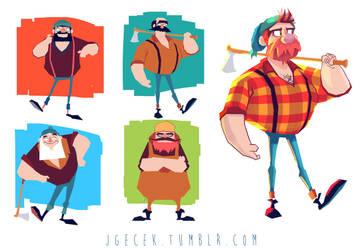 Lumberjack by JGecek