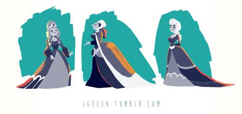 Queens by JGecek