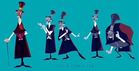 Jack the Ripper by JGecek