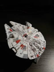 Millennium falcon - Bandai Model 1/144 (2) by Drazeree