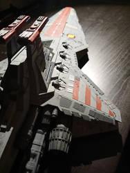 Republic Star Destroyer - Revell model (2) by Drazeree