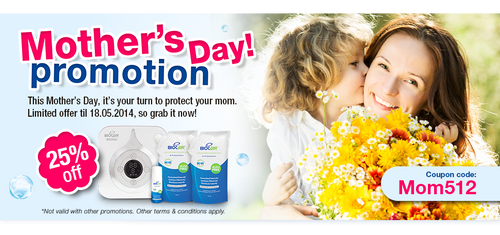 BioCair Mother's Day Banner by GraphIcatZ