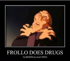 Frollo Smokes Weed by crewkid52