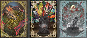 Art Nouveau- Game of Thrones cards #3 by RustyPulley