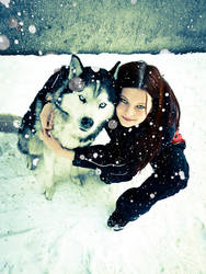 Winter Portrait by Amy-Crow