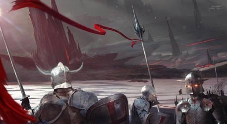 Crusaders by KuldarLeement