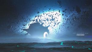 The Asteroid Man by KuldarLeement